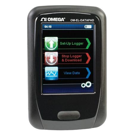 Handheld Programmer & Data Collector for OM-EL-USB Series Loggers
