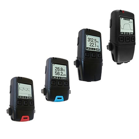 Portable Temperature/Humidity Data Loggers With Graphing Display