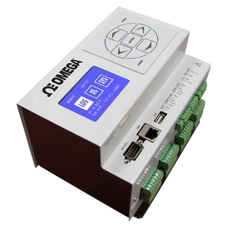 24-Channel Ethernet Data Logger with Embedded Web Server