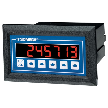 Frequency Input Ratemeter/Totalizer