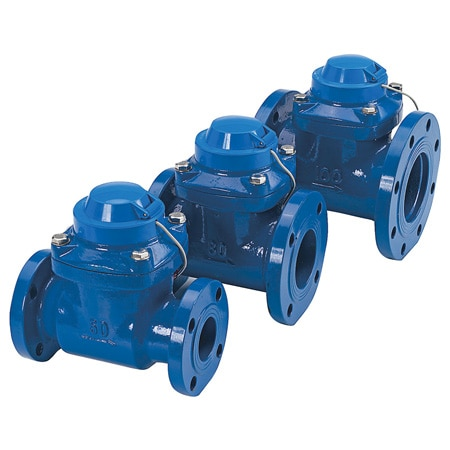 Cast Iron ANSI Flanged Turbine Flow Meters