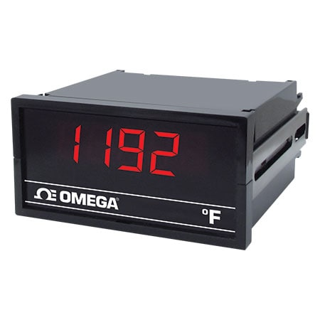 DISCONTINUED - 3-1/2 Digit (Pt100) RTD Meters, 1/8 DIN