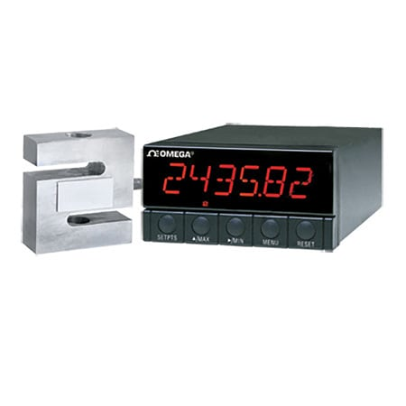 High Performance Strain gauge Meter, High Resolution 6-Digit Display