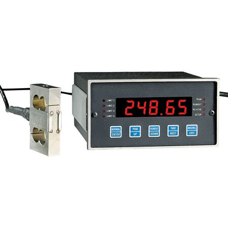 High Speed Load/Strain Meters and Process/Voltmeters, Dual Differential Inputs Available