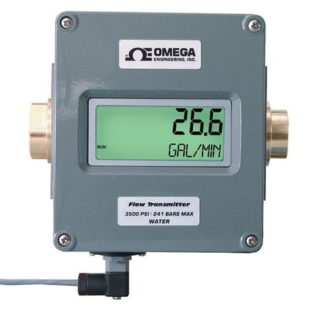 Flow Meter with Analog Outputs