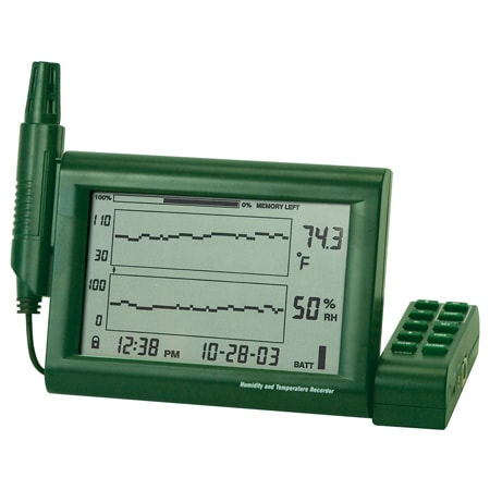 Paperless Temperature/Humidity Chart Recorder