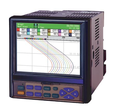 Paperless Recorder Data Acquisition System w/ 6 or 12 Inputs