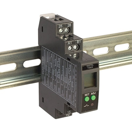DIN Rail Mounted Multi-Functional Digital Timer