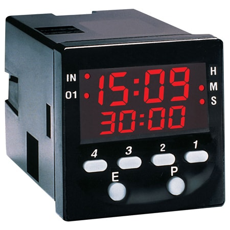 1/16 DIN Multi-Programmable LED Timers.  Models: PTC-21, PTC-22, PTC-23