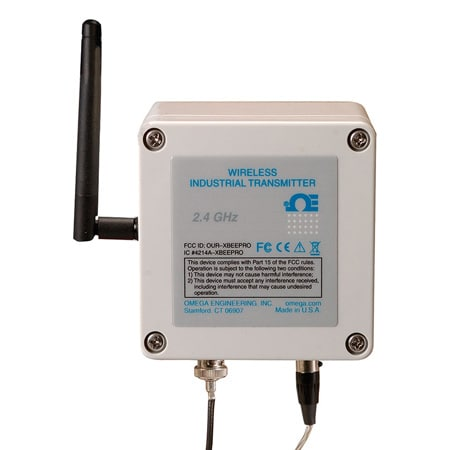 Wireless pH/Temperature Transmitter