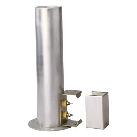 Nickel Chrome Flange Duct Heater up to 600°F and 2kW Power