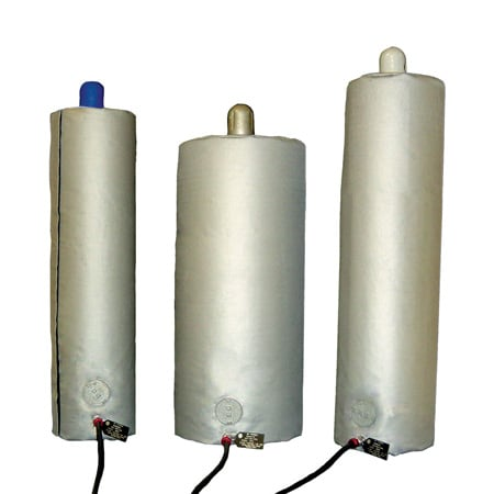 Gas Cylinder Warming Flexible Heater Ex Proof Options