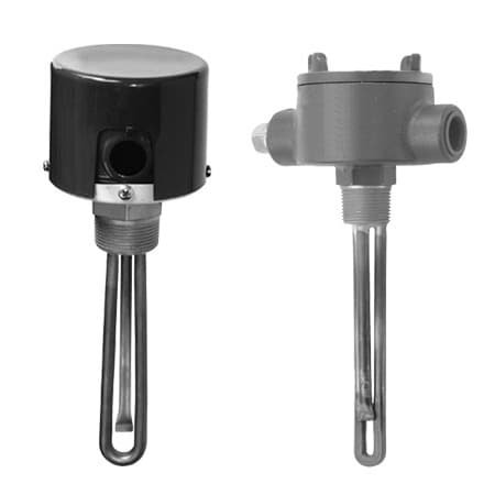 """SS Immersion Heater 1"""" NPT Process Water"""