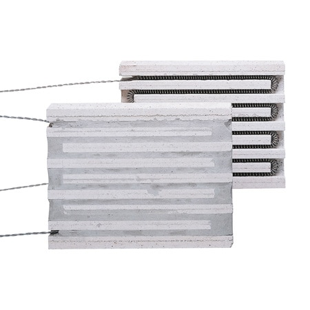 Plate Style Ceramic Heaters 1800°F Max and 14.4 kW Max