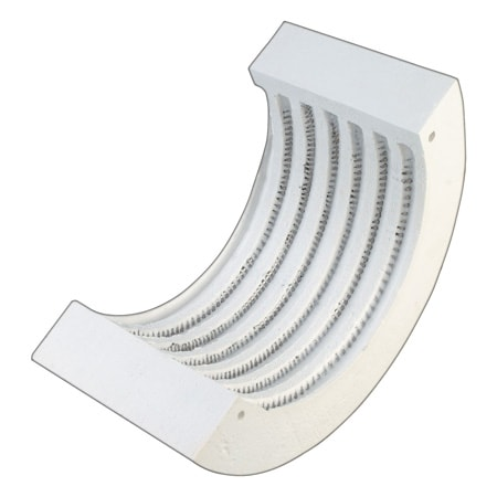 CERAMIC RIBBON HEATERS Ultra-High Temperature, Helically Wound