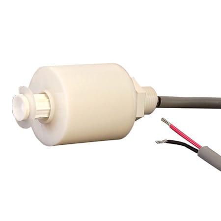 VERTICAL MOUNT PLASTIC LEVEL SWITCH