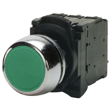 Non-illuminated Heavy Duty/Oil Tight Push Buttons and Push Button Enclosures