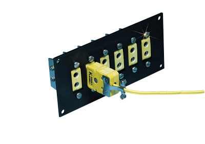 High Temperature Jack Panels for for Standard Size Ceramic Connectors