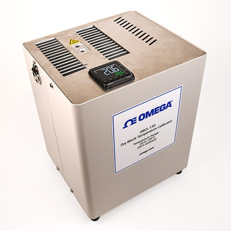 -25°C to +130°C Temperature Dry Block Calibrator