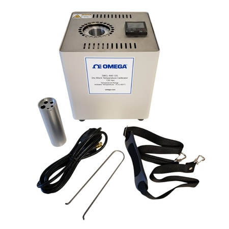 Ambient + 5°C to 450°C Temperature Dry Block Calibrator