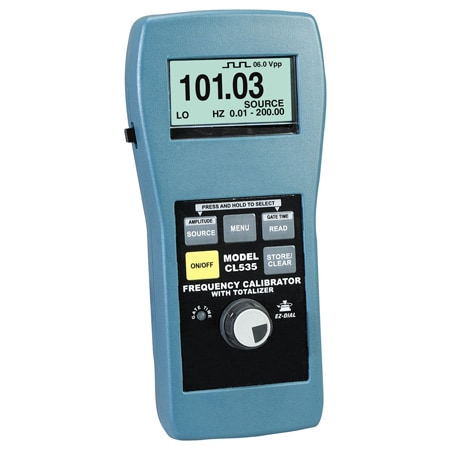 Handheld Frequency Calibrator with Totalizer