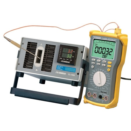 -5°C to 125°C Temperature Dry Block Calibrator