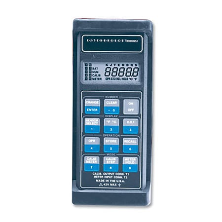 Handheld Temperature Calibrator for all Thermocouple Types