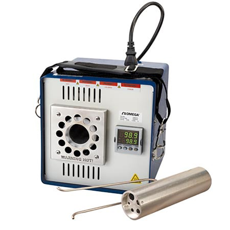 Ambient + 5°C to 400°C Temperature Dry Block Calibrator