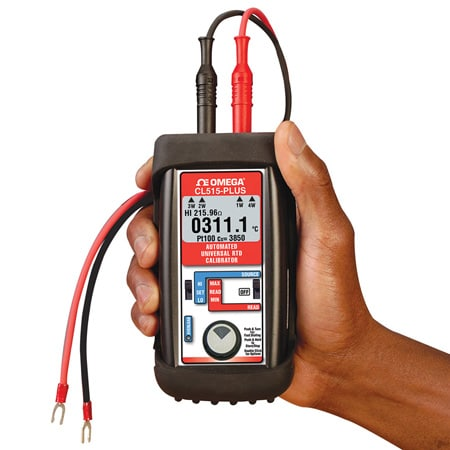 High Accuracy RTD Auto-Connect Display Calibrator & Thermometer