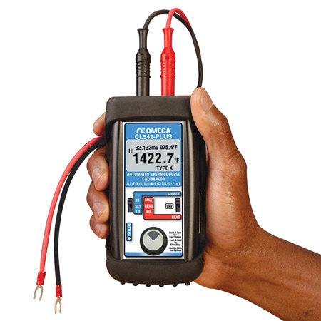13 Thermocouple Types and Millivolt Calibrator