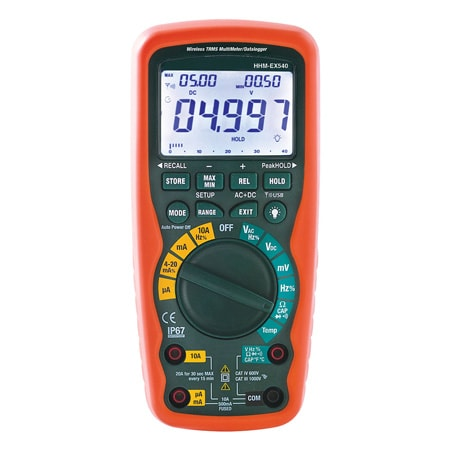 Industrial Multimeters Waterproof (IP67) for Heavy-Duty Use