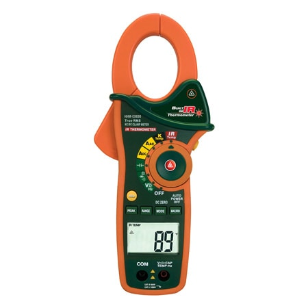 1000A Clamp Meters with Infrared Thermometer