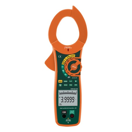 1500A True RMS AC/DC Clamp Meter and Non-Contact Voltage