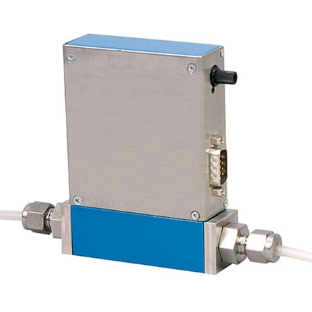 Stainless Steel Mas Flow Meters and Controllers Optional Display