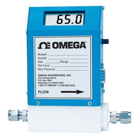 Mass Flowmeters and Controllers With Or Without Integral Display