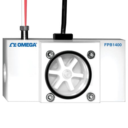 Plastic Paddlewheel Flow Meters With Optional RTD Sensor
