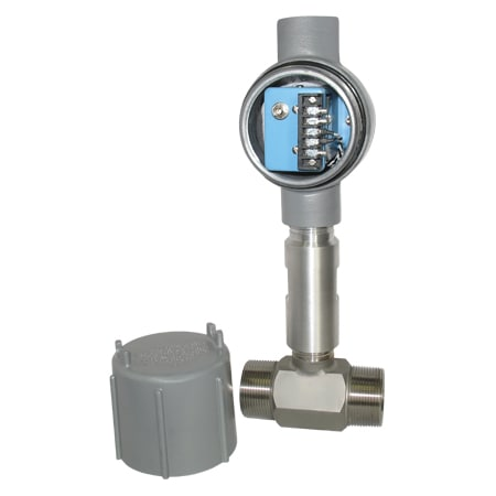 304 SS Turbine Flow Meter with Signal Conditioning Option