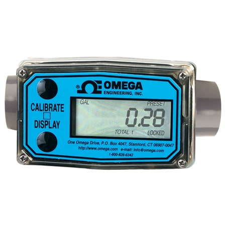 Economical Turbine Flow Meters with Local Display