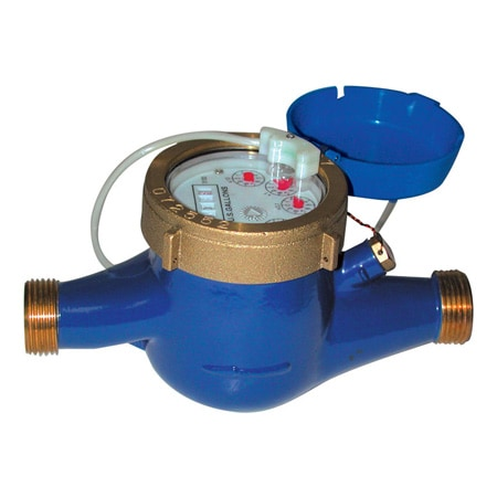 Hot Water Meters for Totalization and Rate Indication with Pulse Output