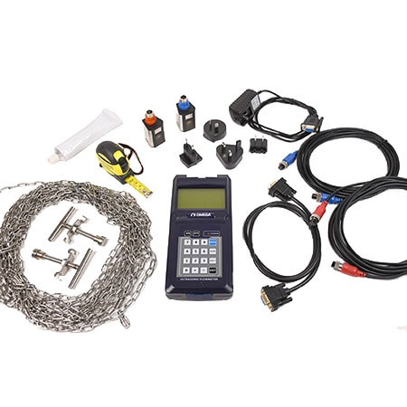 Portable Digital Ultrasonic Flow Meter Kit