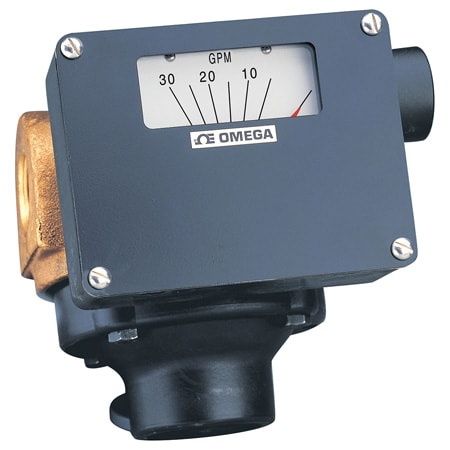 Rugged, Economical Flowmeters Capacity: 0.2 to 90 GPM of Water