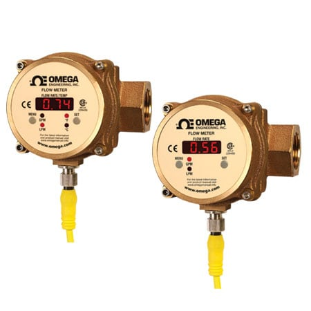 Vortex Shedding Flow Meter and Temperature Transmitter