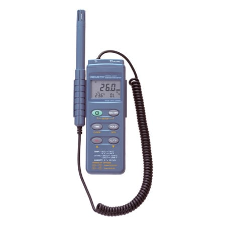 Handheld Temperature Humidity Meter with USB and RS232