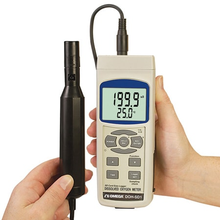 Dissolved Oxygen Meter with Real Time SD Card Data Logger