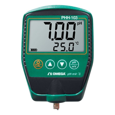 Portable pH/mV Temperature Meter
