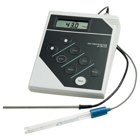 Benchtop pH Meters Ion Analyzers With RS-232C Interface