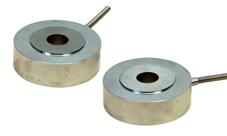 Low Profile Through-Hole Load Cells, 1.5 Inch O.D.