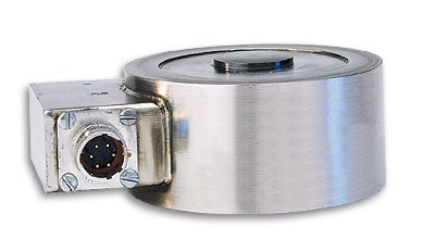 High Accuracy Low Profile Compression Load Cell, Metric, 0-10 kgF to 0-5,000 kgF, For Industrial Weighing Applications