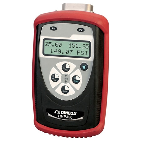 Handheld Smart Manometer for Differential, Gage and Absolute Pressure