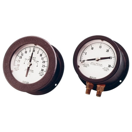 Differential Pressure Gauges, Unidirectional or Bidirectional